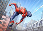 Spider-man PS4 by PatrickBrown