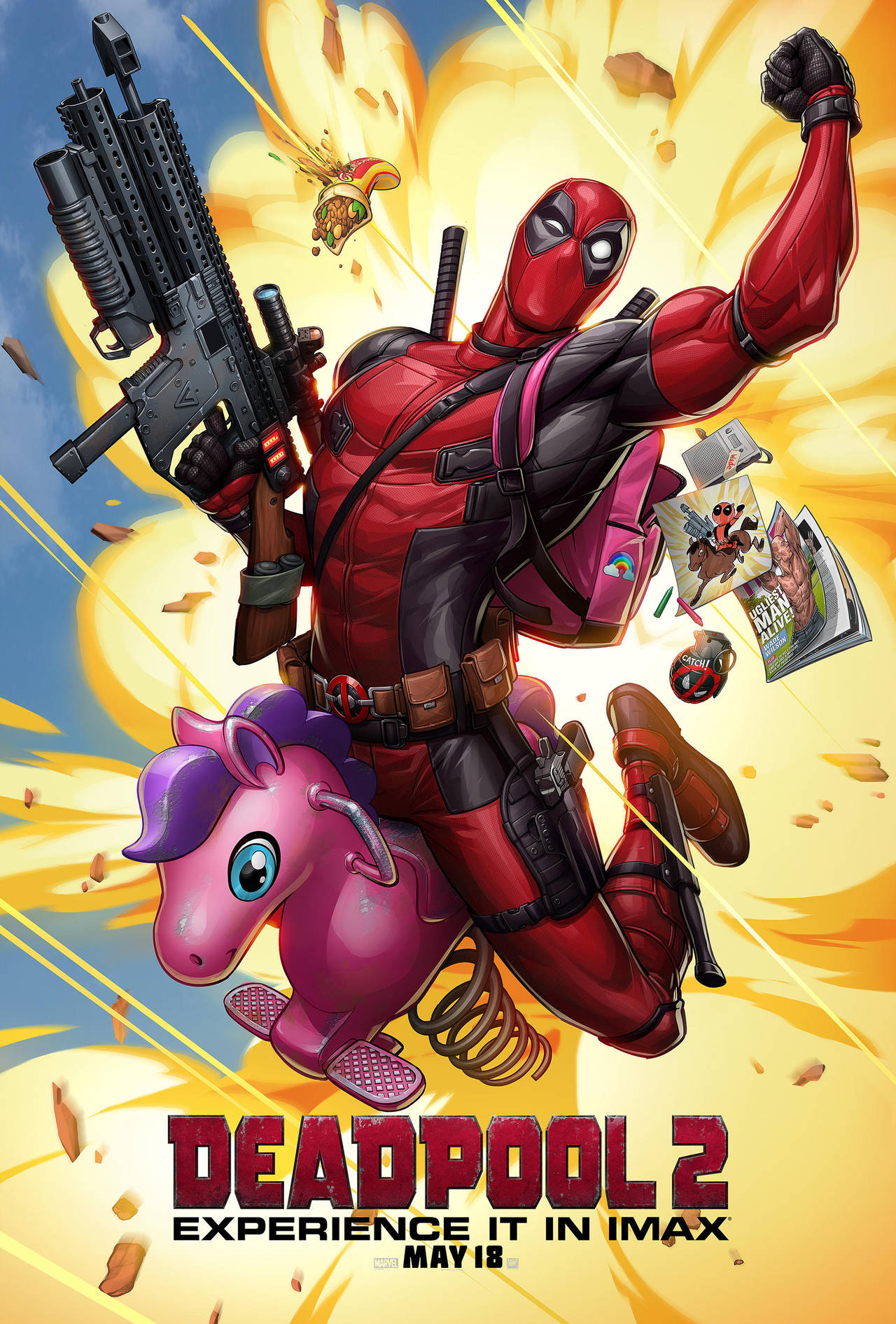 Deadpool 2 IMAX poster by PatrickBrown
