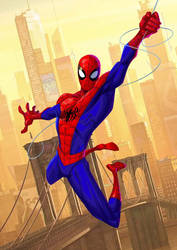 Spider-Man: Into The Spider-Verse - Peter by PatrickBrown