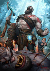 God of War by PatrickBrown