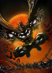 BATMAN COLORS 2012 by barfast