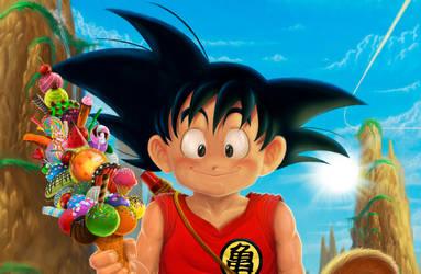 Goku 2017 detail by barfast