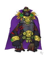 Gorilla Grodd Redesign by Grailee