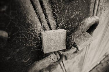 Cobwebs and Padlocks by Sliktor