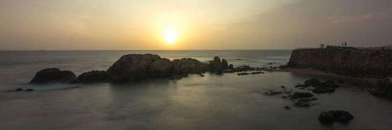 Sunset in Sri Lanka by Sliktor