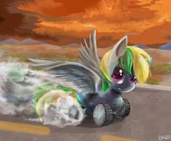 Wheely bopper by SuperRobotRainbowPig