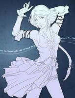 Yuna Songstress by a-l-m