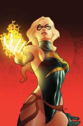 Deviation 8-Miss Marvel by FrankDa