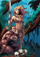 Deviation 34-Jungle girl Cover by FrankDa