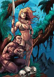 Deviation 34-Jungle girl Cover by FrankDa