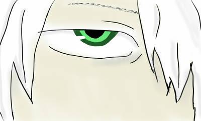 Ginko Eye Doodle by dragonlady864