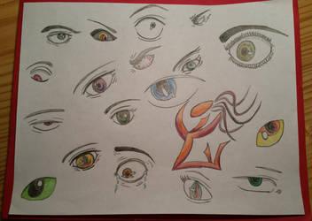 Eye Practice by dragonlady864