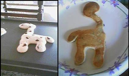 Giraffe Pancake by Cletzenbougen