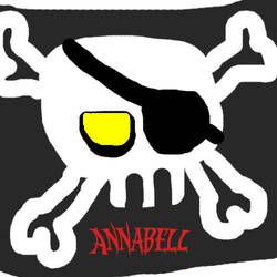 Annabell Pirate flag by Cletzenbougen