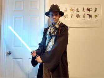 Steampunk Jedi Outfit by sange381