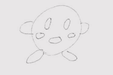 Kirby Drawing #1 by sange381