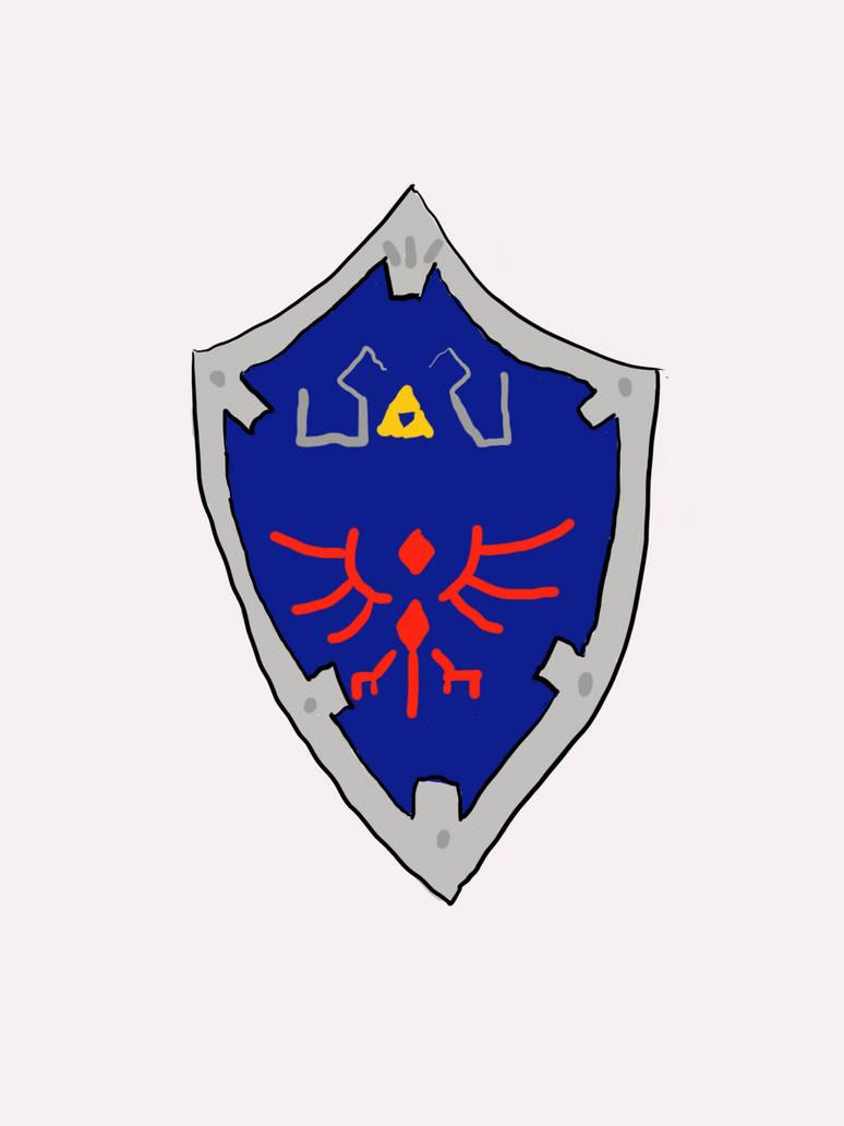 Hylian Shield by sange381
