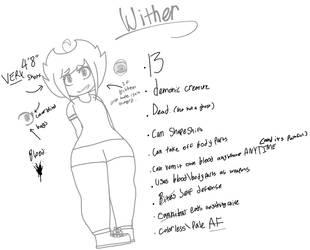 Wither (main o.c) by GoAwaysDeviantart