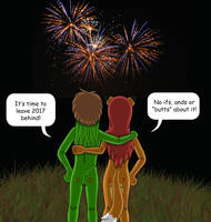 Fireworks by gameboysage