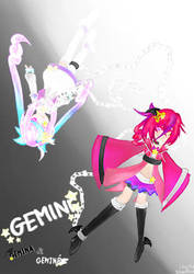 Zodiac New Years -Magical Girl Contest- [Gemini] by SilverRose808