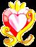 Battle Princess Crest (Cure Warrior) by SilverRose808