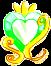 Battle Princess Crest (Cure Archer) by SilverRose808