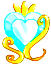 Battle Princess Crest (Cure Oracle) by SilverRose808