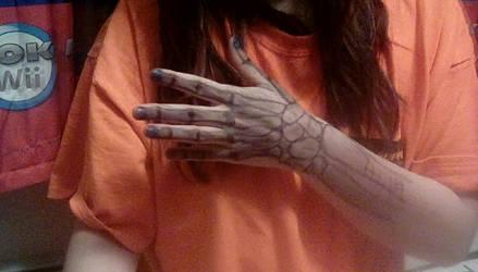 My Bored Body Art ((Mature because its me lol)) by TheWolfGoddess13