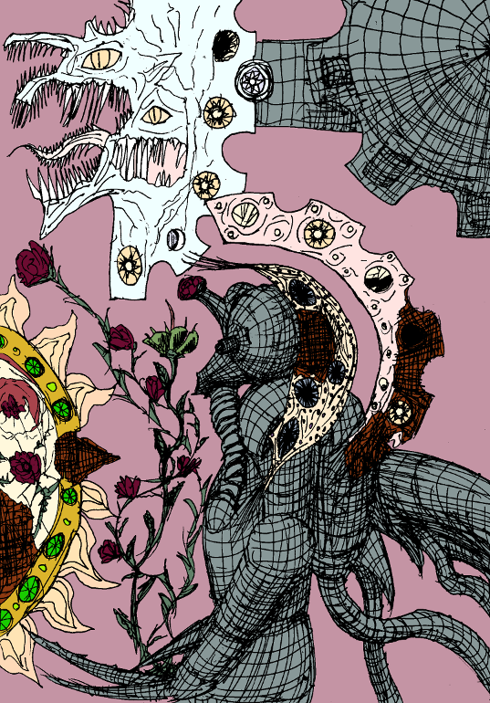 Decaying Wonderland I by ForgottenDemigod