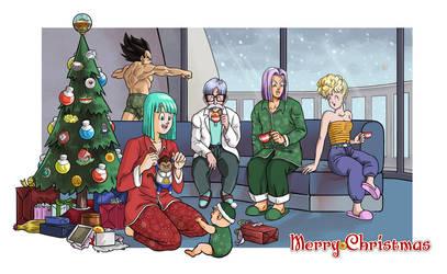 Capsule Corps Christmas by Soapfish-Art