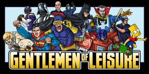 'Gentlemen of Leisure' banner by Soapfish-Art