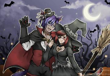 SpeedArt: FFXIV: Happy Halloween! (with video!) by MissKilvas