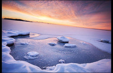 Frozen Sunset by RS-foto