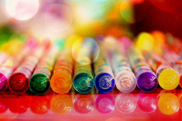 color pens by char89lyn