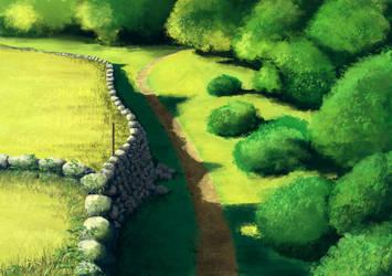 The Art of  The Princess Mononoke Page 20 by Donkeywong
