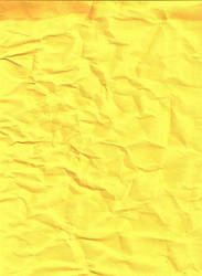Yellow Construction Paper by kizistock