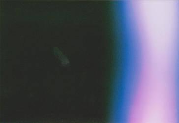 Blue Film Camera Light Leak by kizistock
