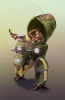 Orri the Mech Pilot by Afarifteh