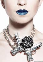 Blue lips by garazi