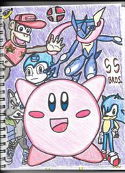 Super Smash Bros! [My Mains] by HTsponge