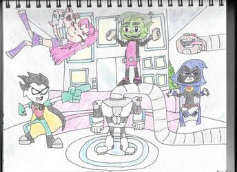 Teen Titans Go! by HTsponge