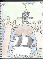 We Bare Bears by HTsponge