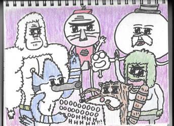 Regular Show Crew by HTsponge