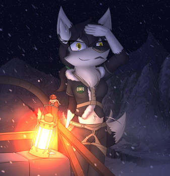 Arctic Rescue Husky! by W0lfmare
