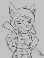 Military Denrim by W0lfmare