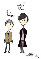Johnlock - colored by vicdebroi