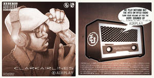 Clark Airlines 'AirPlay' Mixtape Covers by Antboy