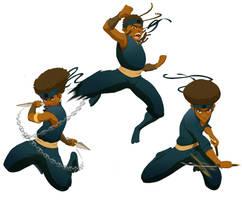 Black Ninja Gang Bangin' by Antboy