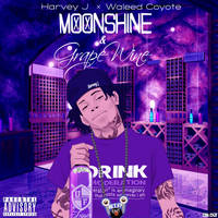 Moonshine and Grape Wine Mixtape Cover by Antboy