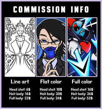 Commission info by AnicMJ